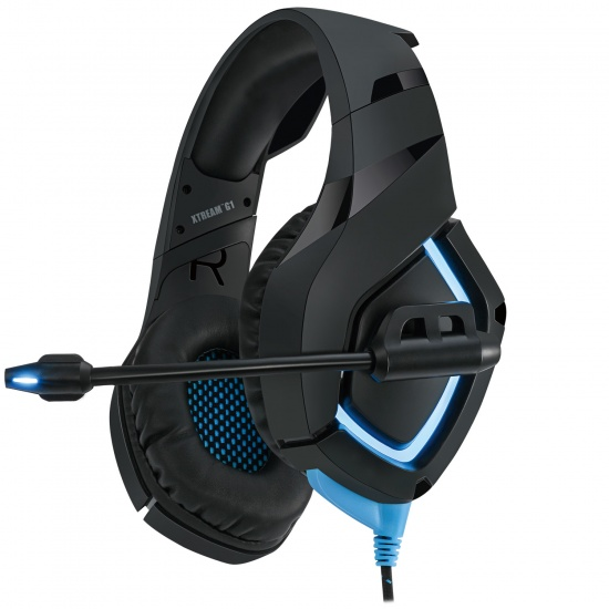 Adesso Xtream G1 Wired LED Stereo Gaming Headset w/Microphone Image