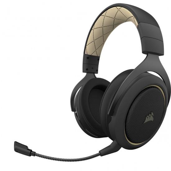 Corsair HS70 Pro Virtual 7.1 Wireless Gaming Headset w/Microphone - Cream Image