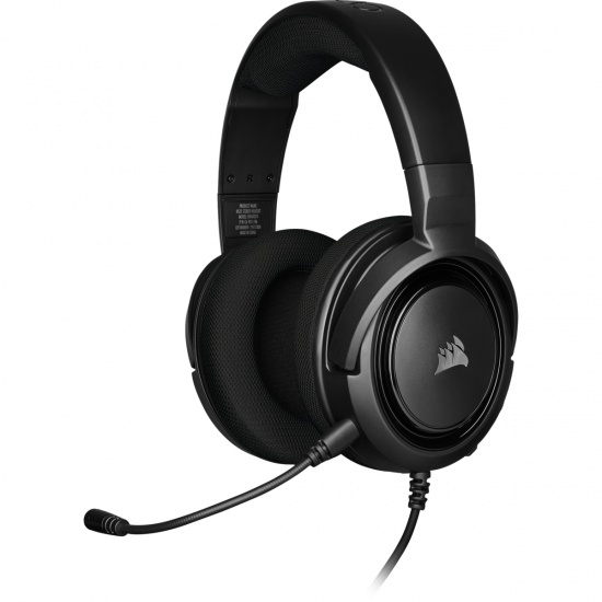 Corsair HS35 Wired Stereo Gaming Headset w/Microphone - Carbon Image