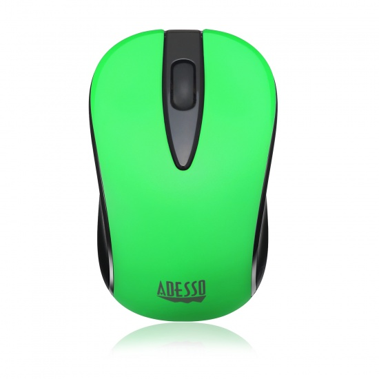 Adesso iMouse S70G Wireless RF Optical Neon Mouse - Green Image