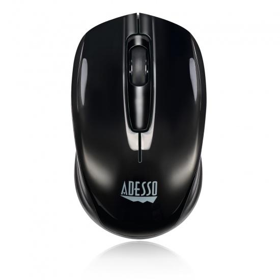 Adesso iMouse S50 Wireless RF Optical Mini Mouse - Black Image
