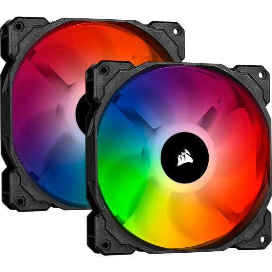 Corsair iCUE SP140 Pro RGB 140mm Computer Case Fans - Dual Pack Image