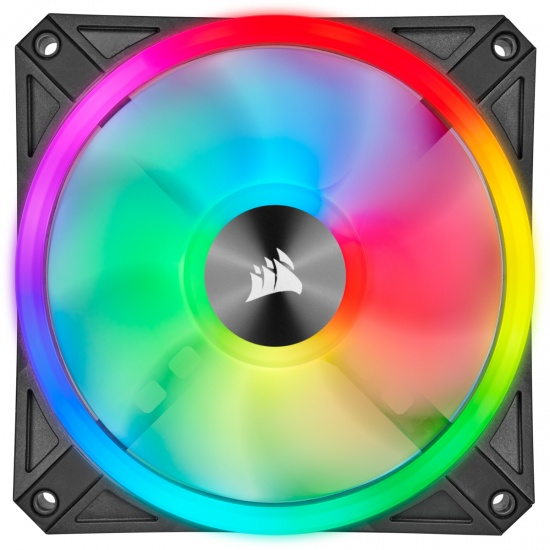 Corsair iCUE QL140 RGB 140mm Computer Case Fans - Dual Pack Image