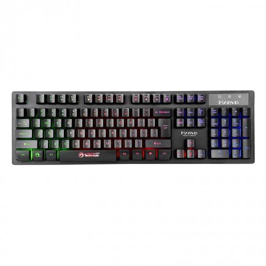 Marvo Scorpion K616A 3 RGB USB Wired Gaming Keyboard - UK English Layout Image