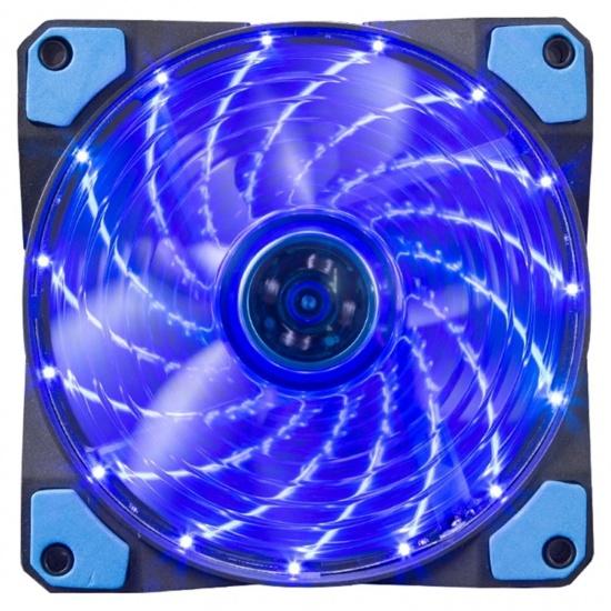 Marvo Scorpion FN-10 120 mm LED Computer Case Fan - Blue Image