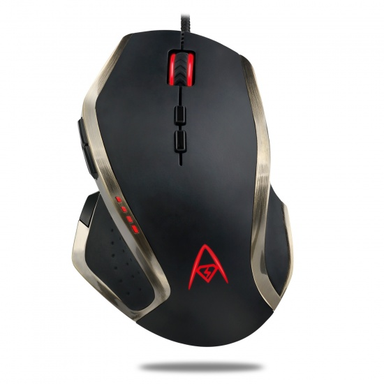Adesso iMouse X3 Wired Optical LED Programmable Gaming Mouse Image