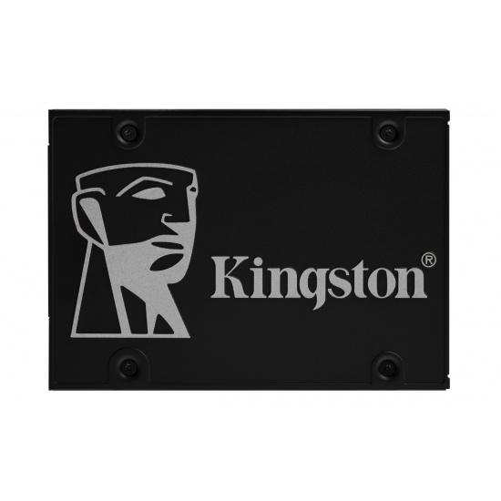 512GB Kingston KC600 3D TLC NAND Self-encrypting Drive SATA SSD Image