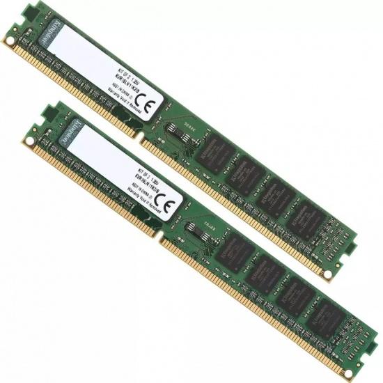 8GB Kingston ValueRAM DDR3L 1600MHz PC3L-12800 CL11 Dual Channel Kit (2x 4GB) Image