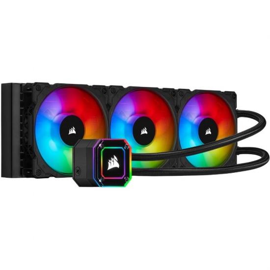 Corsair iCUE H150i ELITE CAPELLIX RGB 120mm Triple Fan Liquid CPU Cooler Image