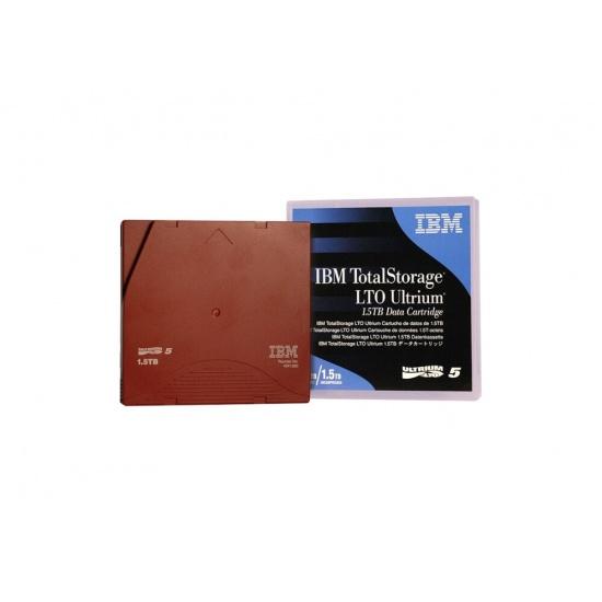 IBM LTO Ultrium-5 1.5TB Data Cartridge Tapes - 5 Pack Image