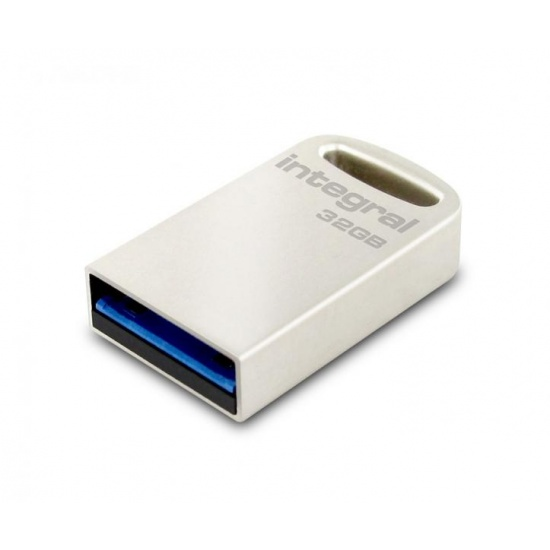 32GB Integral Metal Fusion USB3.0 Flash Drive - Ultra-small (speed up to 140MB/sec) Image