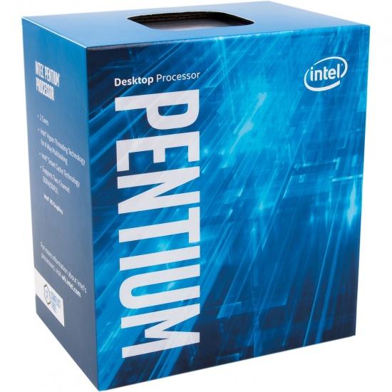 Intel Pentium G4560 3.5GHz Kaby Lake CPU LGA1151 Desktop Smart Cache Boxed Image