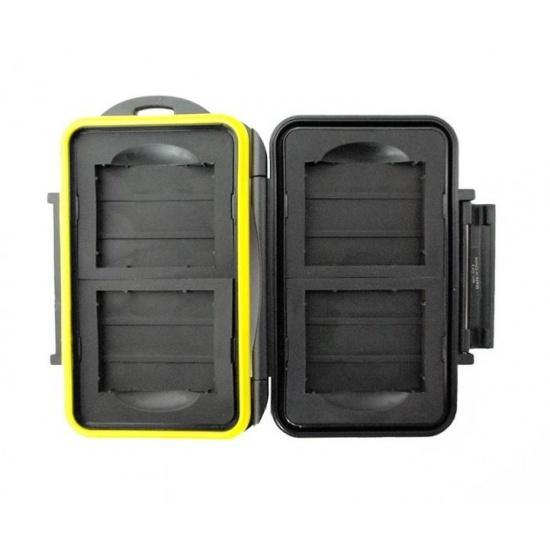 JJC MC-CF4 Rugged Waterproof Memory Card Case (4x CF / CompactFlash) Image