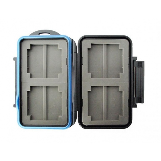 JJC MC-1 Rugged Waterproof Memory Card Case (4x CF / 8x MS PRO Duo) Image