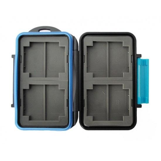 JJC MC-2 Rugged Waterproof Memory Card Case (4x CF / 8x SD) Image
