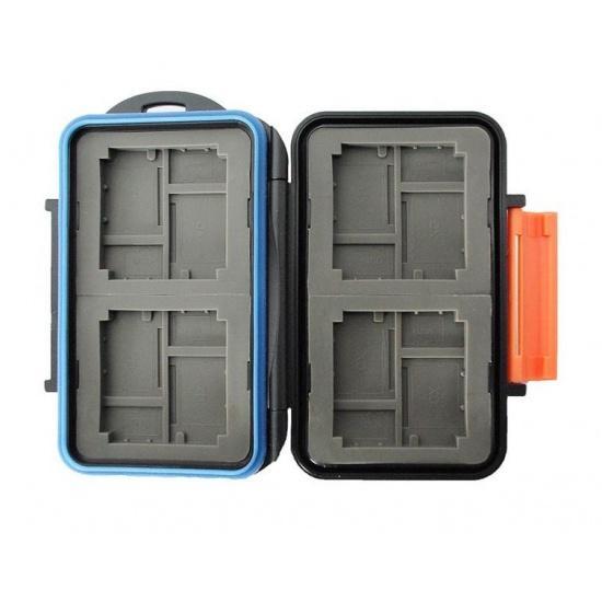 JJC MC-4 Rugged Waterproof Memory Card Case (4x CF / 8x microSD / 8x xD) Image