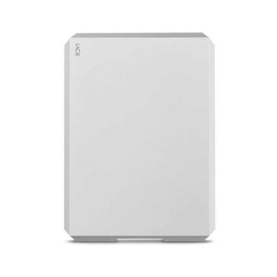 1TB Seagate LaCie USB3.1 External Hard Drive - Silver Image
