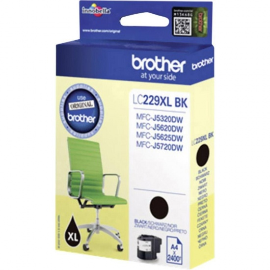 Brother LC-229XL Black Ink Cartridge Image