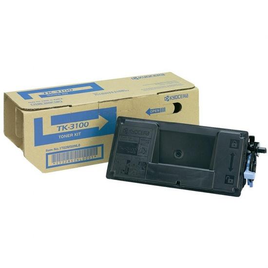 Kyocera Laser Toner Cartridge - TK-3100 -  Black - 12500 Page Yield Image