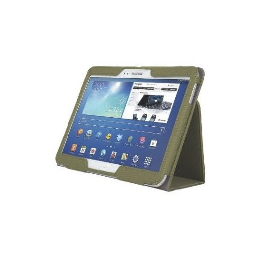 Kensington Comercio Soft Folio Tablet Case - Galaxy Tab 3 10.1 - Olive Image