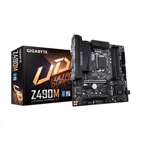 Gigabyte Intel Z490M LGA 1200 Micro ATX DDR4-SDRAM Motherboard Image