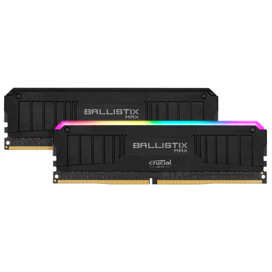 16GB Crucial Ballistix MAX 4000MHz DDR4 Dual Memory Kit (2 x 8GB) - Black Image
