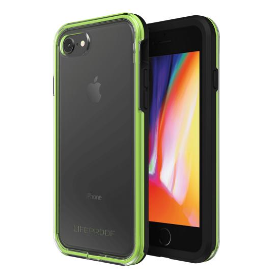 LifeProof Slam Apple iPhone 7, 8 Phone Case - Black,Green, Transparent Image