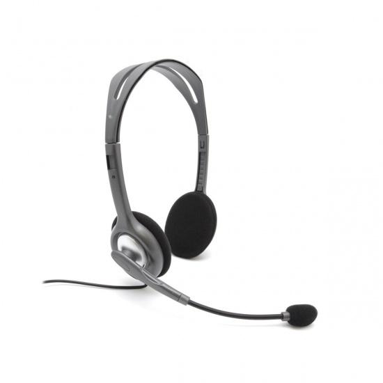Logitech H111 Wired Audio Jack Headset Image