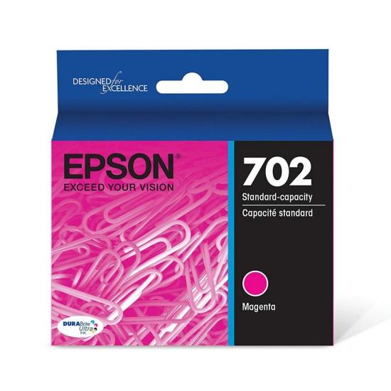 Epson T702 Durabright Ultra High Capacity Ink Cartridge - Magenta Image