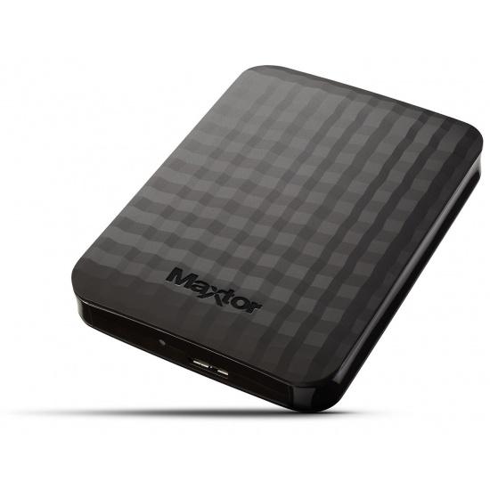 2TB Maxtor M3 USB3.0 Slimline Portable Hard Drive Image