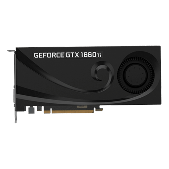 PNY GeForce GTX 1660 Ti 6GB Blower GDDR6 Graphics Card Image
