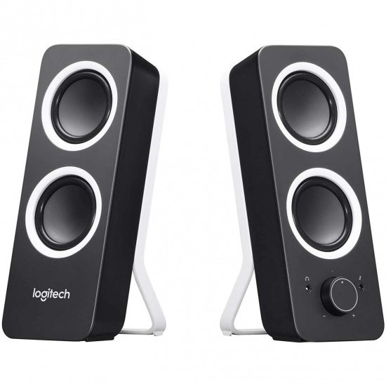 Logitech Z200 3.5mm Speakers - Midnight Black Image