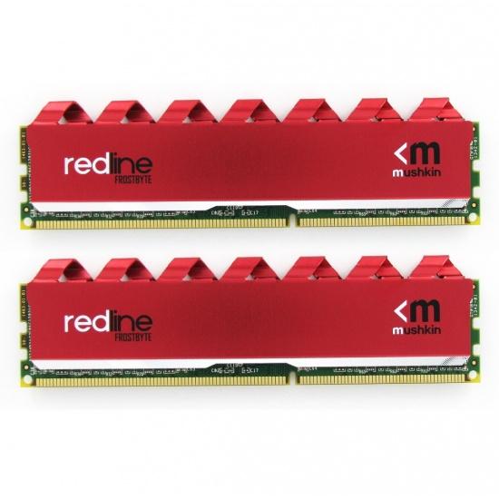 16GB Mushkin Redline Frostbyte DDR4 2666MHz PC4-21300 CL16 1.2V Dual Channel Kit (2x 8GB) Image