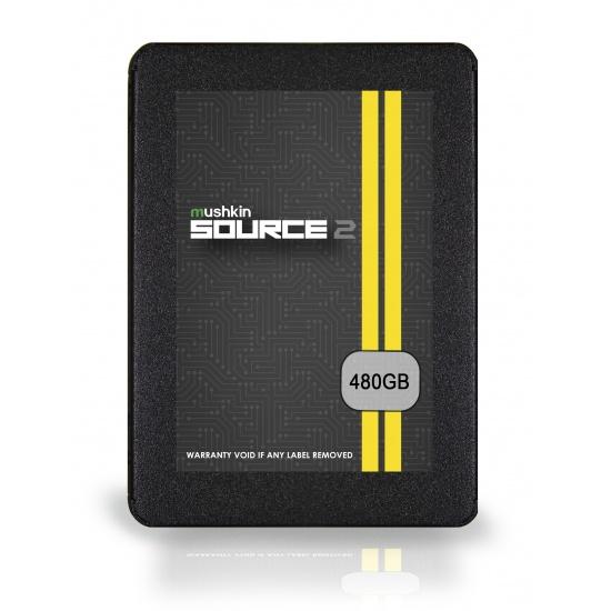 480GB Mushkin 2.5-inch SATA III Source 2 SSD Solid State Disk 7mm 560MB/s Image