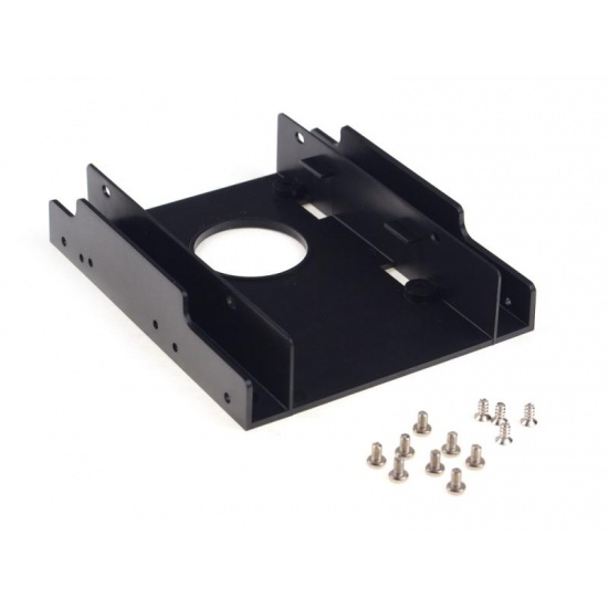 NEON Internal 2.5-inch SSD/HDD mounting kit (supports 2x 2.5-inch drives per 3.5-inch bay) Image