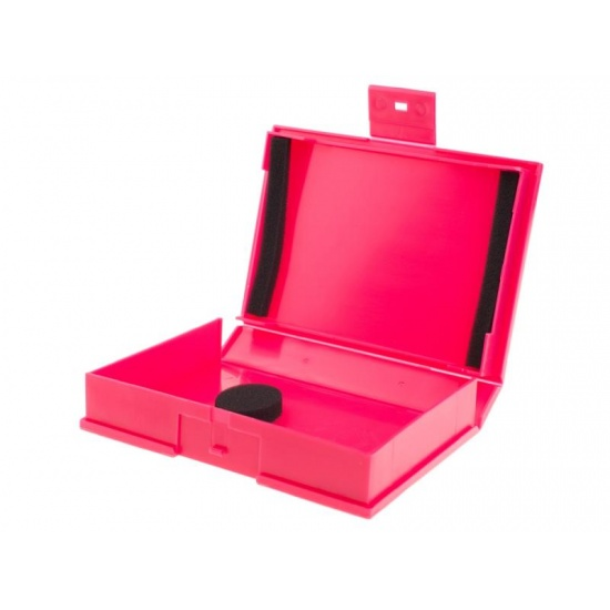 NEON Hard Protective Storage Case for 3.5-inch hard drive / SSD - Red Image