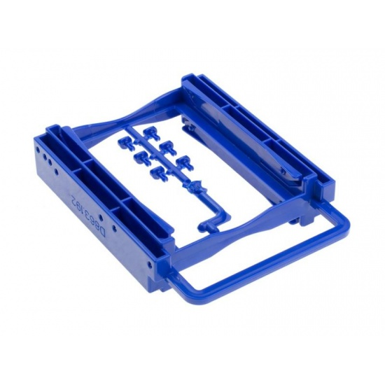 NEON Internal Dual 2.5-inch SSD/HDD screwless adapter mounting kit Image