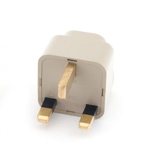 NEON Travel Adapter Universal UK 3-pin plug Image