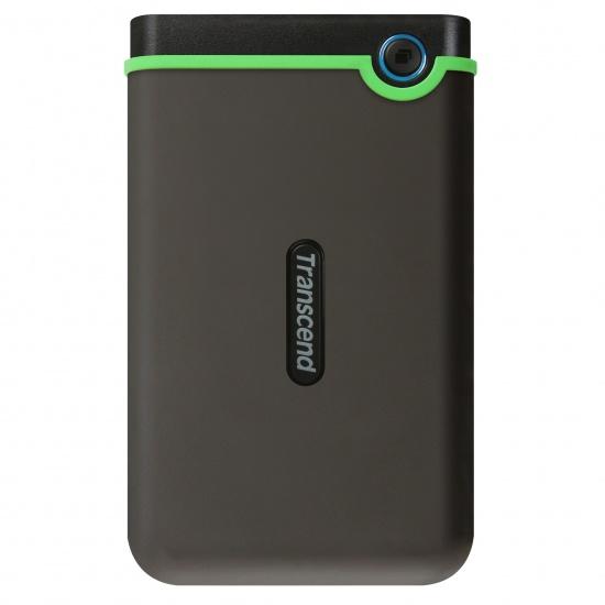 2TB Transcend StoreJet 25M3 USB3.1 Slim Portable Hard Drive Shock-Resistant Image