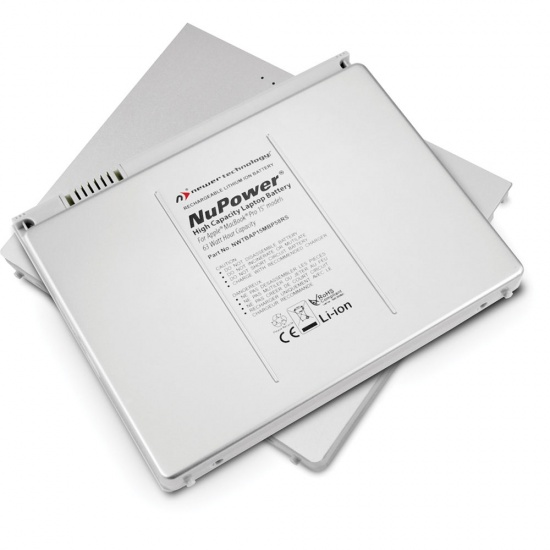 NewerTech NuPower 60 Watt-Hour Lithium-Ion Rechargeable Battery for MacBook Pro 15-inch Laptops Image