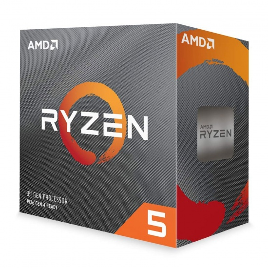 AMD Ryzen 5 3600 AM4 3.6GHZ 32MB CPU Desktop Processor Boxed Image