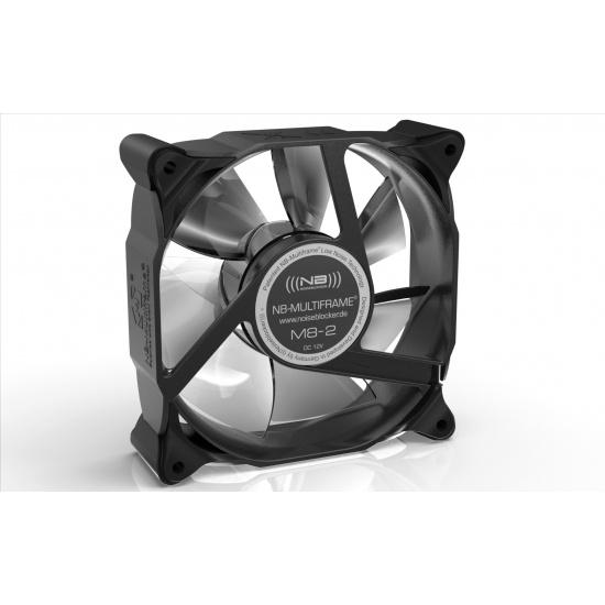 Noiseblocker Multi-frame S-Series M8-2 80mm Computer Case Fan Image