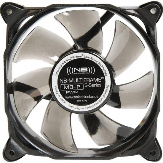 Noiseblocker Multi-frame S-Series M8-P 80mm Computer Case Fan Image