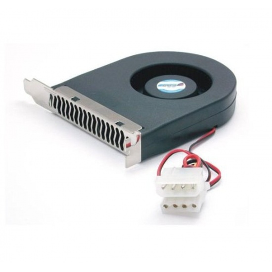 StarTech Expansion Slot Rear Exhaust Cooling Fan with LP4 Connector Image