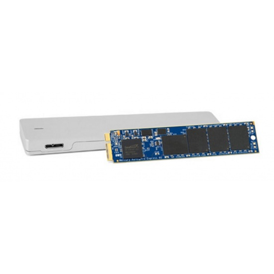 1TB OWC Aura Pro 6G SSD Envoy Kit for MacBook Air 2012 with Enclosure Image