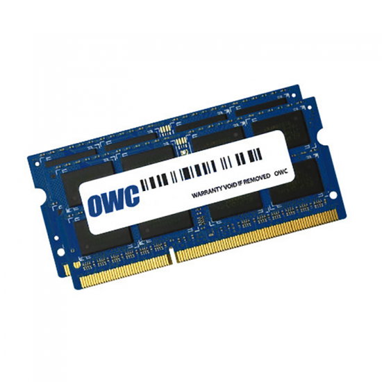 8GB OWC DDR3L SO-DIMM PC3-12800 1600MHz CL11, 1.35V Dual Channel Kit (2x 4GB) Image