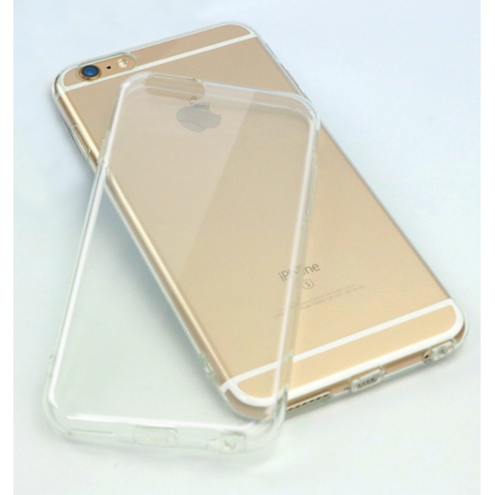 PQI Crystal Clear Protective Case for iPhone 6 / 6s - Anti Slip, Shock Absorbing Image