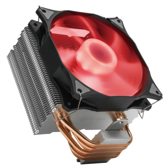 Reeven E12 High Performance 120mm 500-1500RPM RGB CPU Cooler Image