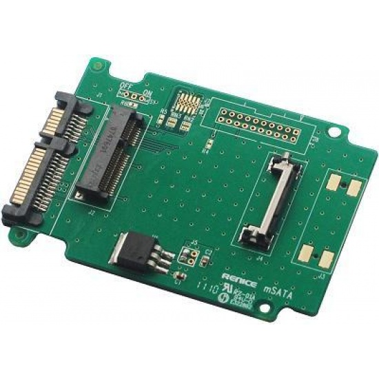 ZTC mSATA to 2.5-inch SATA SSD Adapter Board Image