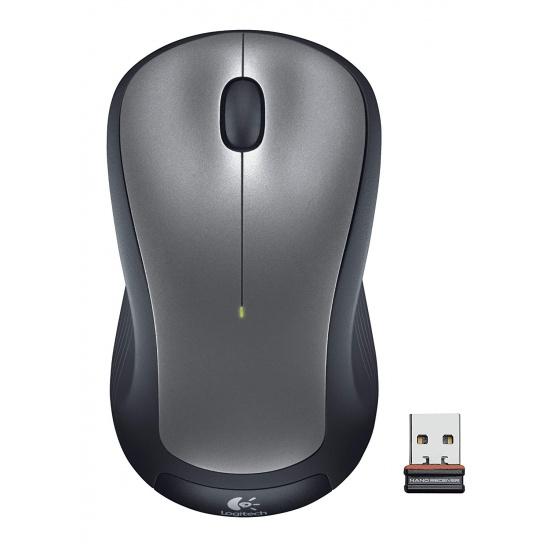 Logitech M310 Wireless Laser Mouse - Silver Image